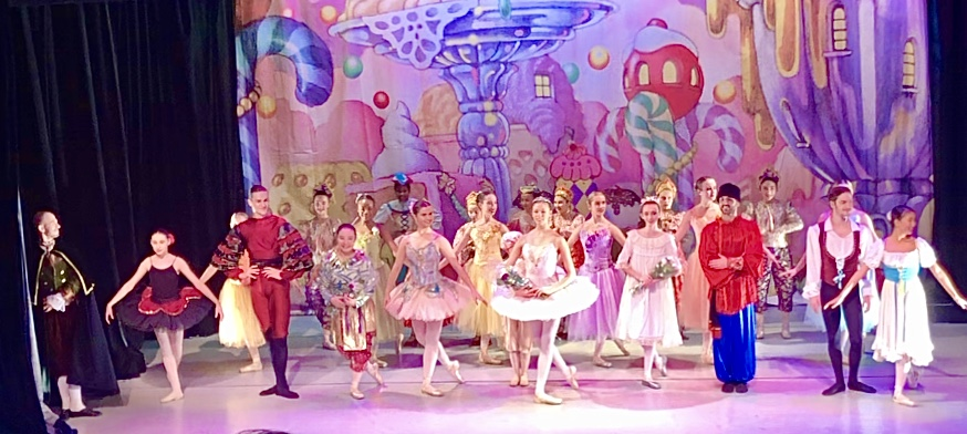 THE NUTCRACKER AT THE LONG ISLAND BALLET THEATRE.